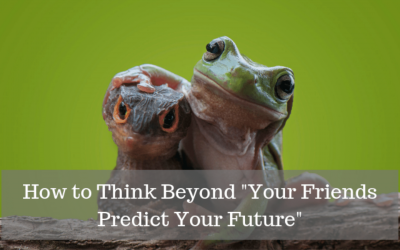 """How to Think Beyond """"Your Friends Predict Your Future"""""""